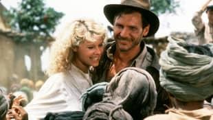 Kate Capshaw und Harrison Ford