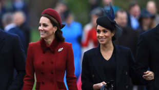 Herzogin Kate und Herzogin Meghan
