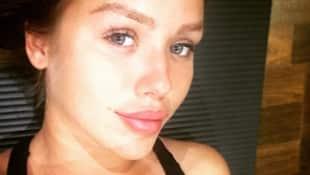 Kim Gloss zeigt sich selten ungeschminkt