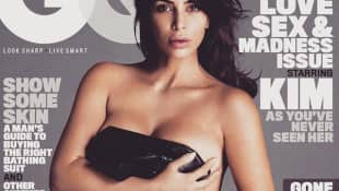 "Kim Kardashian auf dem ""GQ""-Cover"