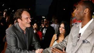 Kobe Bryant, Vanessa Bryant und Quentin Tarantino