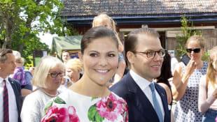 Kronprinzessin Victoria und Daniel von Schweden