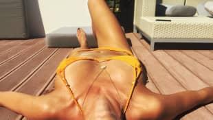 Lena Gercke zeigt ihren tollen Körper