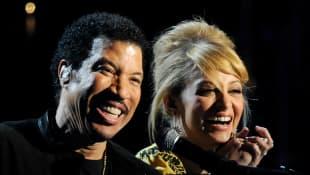 Lionel Richie und Nicole Richie
