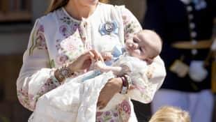 Madeleine von Schweden mit ihrer Tochter Prinzessin Adrienne