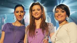Mandy Capristo, Senna Guemmour und Bahar Kizil im Jahr 2007
