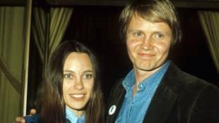 Marcheline Bertrand und Jon Voight