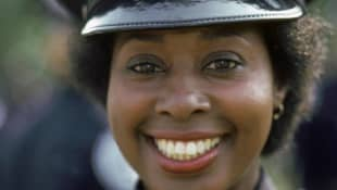 "Marion Ramsey als ""Laverne Hooks"" in ""Police Academy"""