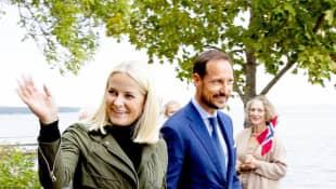 Mette-Marit Kronprinzessin von Norwegen und Haakon von Norwegen