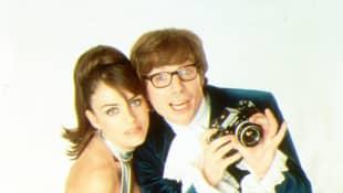 Mike Myers und Liz Hurley