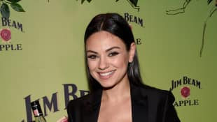 "Mila Kunis mit top Figur auf der ""Jim Beam""-Party"
