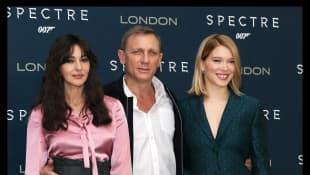 Monica Bellucci, Daniel Craig und Lea Seydoux