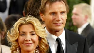 Natasha Richardson und Liam Neeson