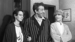 Nathalie Hallervorden, Dieter Hallervorden und Rotraud Schindler