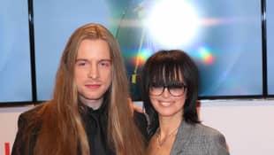 Nena und Sohn Saskias Kerner