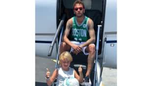 Neymar und sein Sohn