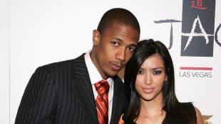 Nick Cannon und Kim Kardashian im Venetian Resort Hotel Casino in Las Vegas 2006, Ex-Paar