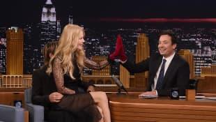 Nicole Kidman bei Jimmy Fallon