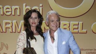 Nino de Angelo und Larissa Schmitt