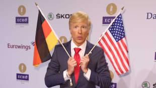 Oliver Pocher Donald Trump Echo 2016