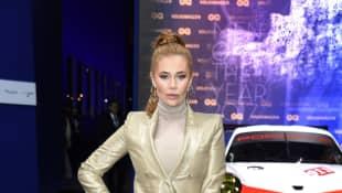 Palina Rojinski zeigte sich bei den GQ Men of the Year Awards in einem strengen Look