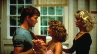 "Patrick Swayze und Jennifer Grey im Kult-Film ""Dirty Dancing"""