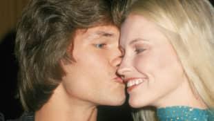 Patrick Swayze und Lisa Niemi lertnen sich schon als Teenager kennen und waren 34 Jahre verheiratet Ballettschule Patsy