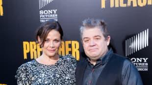 Patton Oswalt und Meredith Salenger