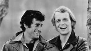 """Paul Michael Glaser and David Soul as """"Starsky"""" and """"Hutch"""""""