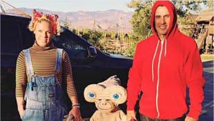 Pink mit Willow und Carey Hart