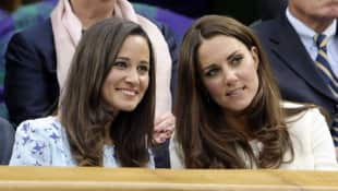 Pippa Middleton Herzogin Catherine Kate Royal Wimbledon Schwestern Tennis