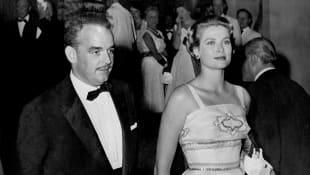 Prince Rainer and Princess Grace Patricia of Monaco