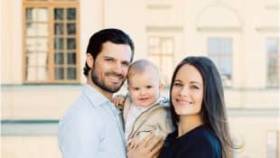 Prinz Carl Philip, Prinz Alexander und Prinzessin Sofia von Schweden