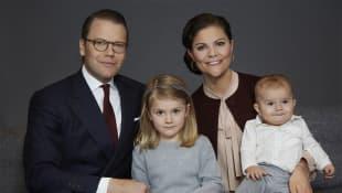 Prinz Daniel, Prinzessin Victoria, Prinzessin Estelle, Prinz Oscar