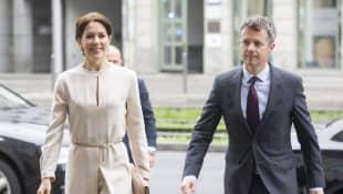 Prinz Frederik und Mary von Dänemark