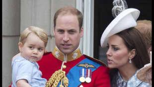 Prinz George, Prinz William und Kate Middleton