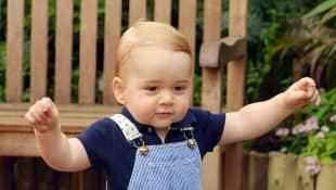 Prinz George an seinem ersten Geburtstag im Juli 2014