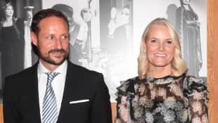 Prinz Haakon und Kronprinzessin Mette-Marit