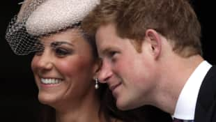 Prinz Harry Herzogin Kate