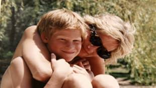 Prinz Harry und Lady Diana