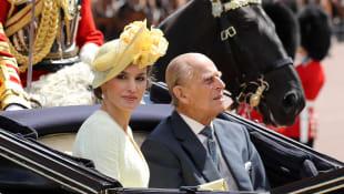 Prinz Philip Königin Letizia