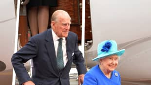 Prinz Philip und Königin Elisabeth II.