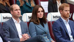 Prinz William, Kate und Prinz Harry