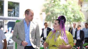 Prinz William und Netta