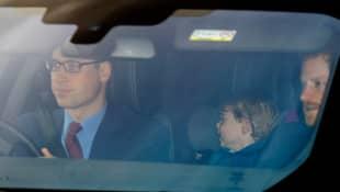 Prinz William, Prinz George und Prinz Harry