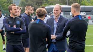 Prinz William Spieler englische Nationalmannschaft