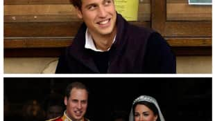 Through the years with Prince William