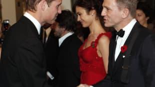 Prinz William und Daniel Craig