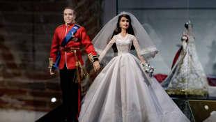 Prinz William und Herzogin Kate als Barbie-Puppen