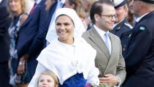 Prinzessin Estelle, Prinzessin Victoria und Prinz Daniel